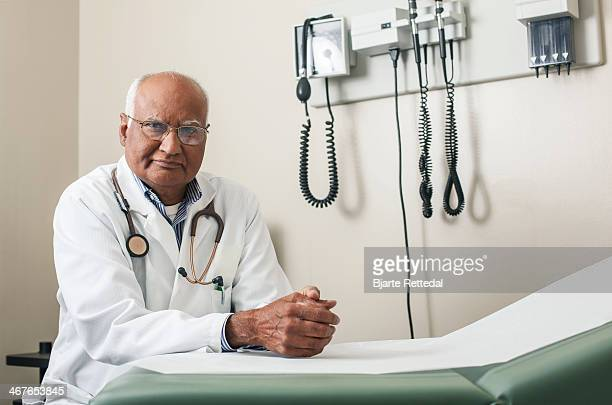 Doctor in his Clinic