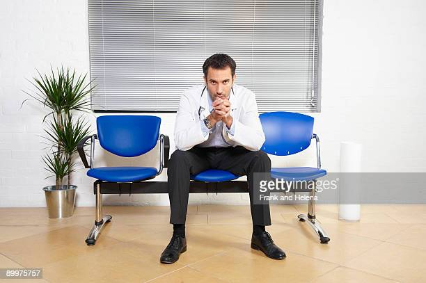 Doctor in waiting room