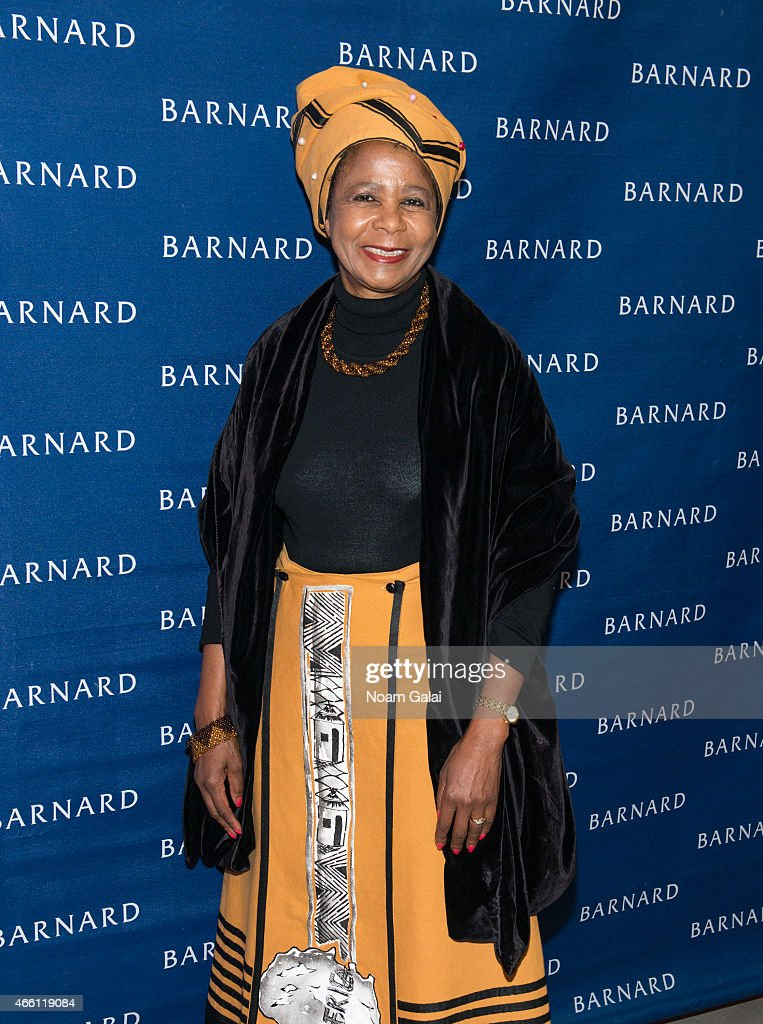 Doctor Mamphela Ramphele attends Barnard College's 7th Annual Global Symposium at Barnard College on March 13 2015 in New York City