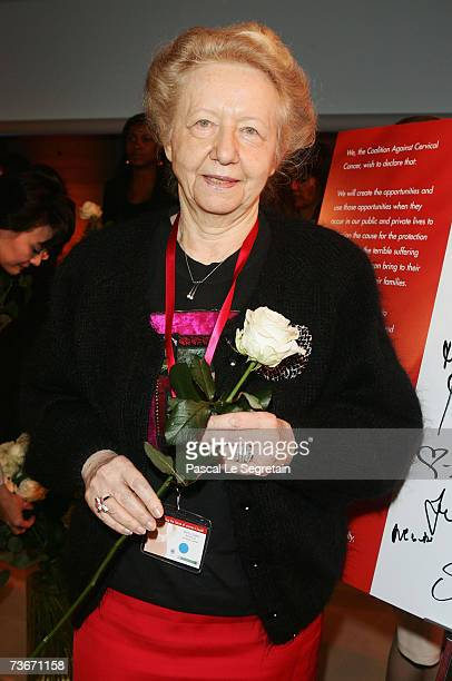 Doctor Michele Lachowsky attends The First Global Summit On Cervical Cancer on March 22nd 2007 at the UNESCO House in Paris France