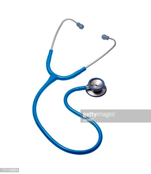 Doctor stethoscope on a white background