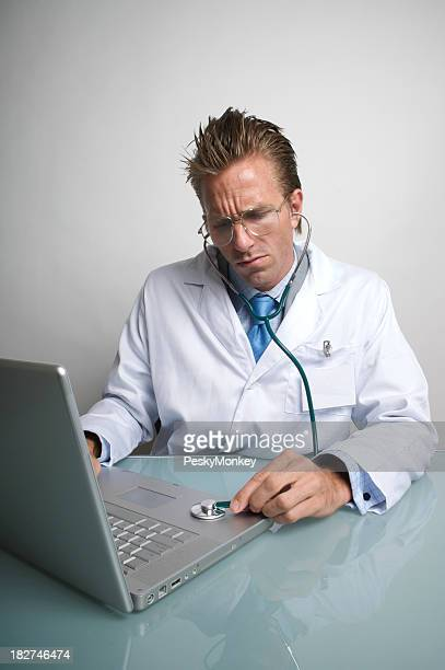 IT Doctor Takes the Pulse of a Laptop