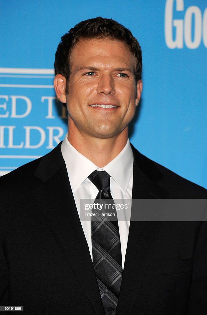 Doctor Travis Lane Stork poses in the press room at the 36th Annual Daytime Emmy Awards at The Orpheum Theatre on August 30, 2009 in Los Angeles, California.