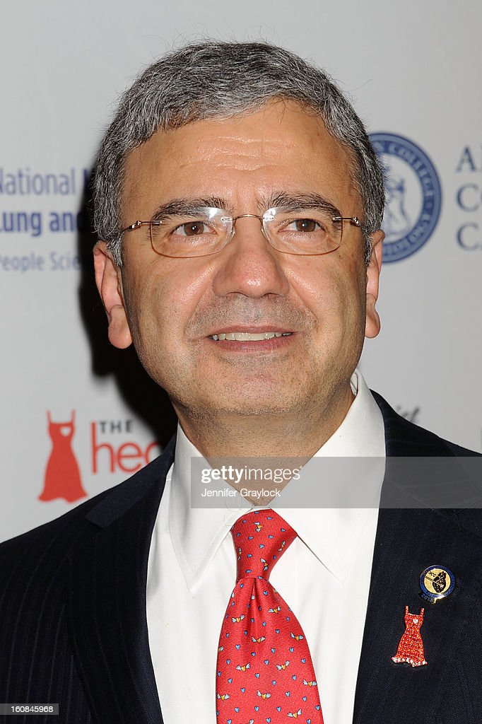 Doctor William A. Zoghbi attends The Heart Truth 2013 Fashion at Hammerstein Ballroom on February 6, 2013 in New York City.
