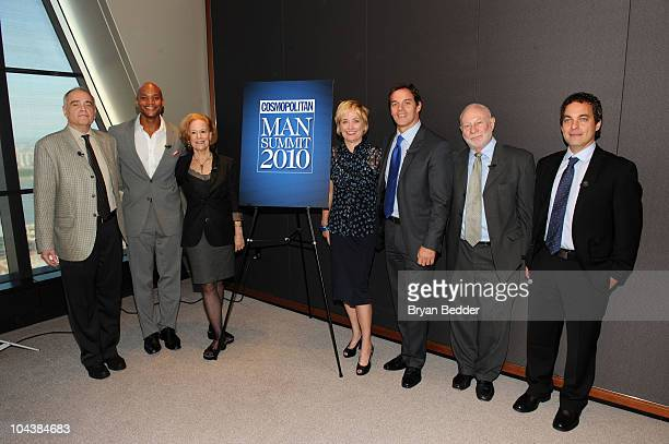 Doctor William S Pollack author Wes Moore professor Kathleen Gerson Editor in Cheif of Cosmopolitan magazine Kate White Fox News Anchor Bill Hemmer...