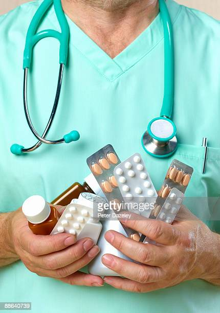 Doctor with oversubscribed drugs.