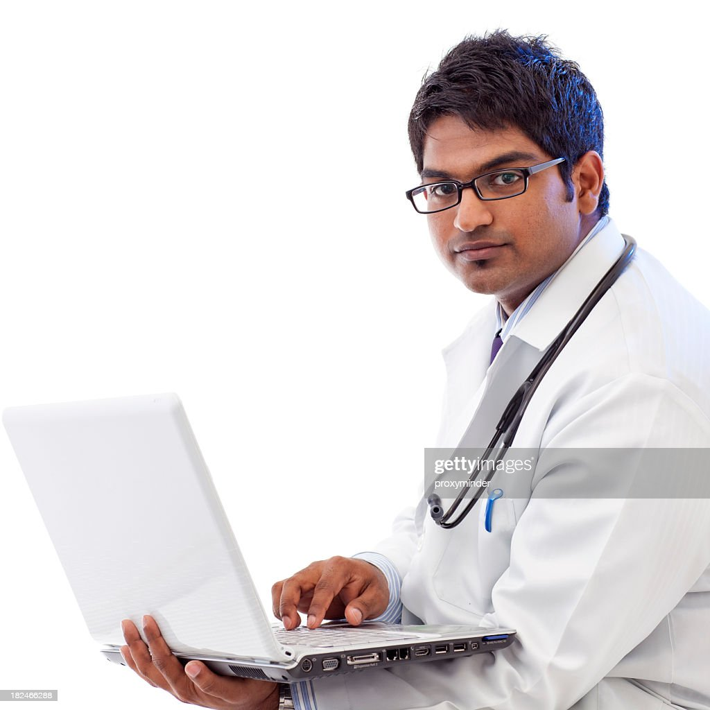 Doctor work Up on Laptop