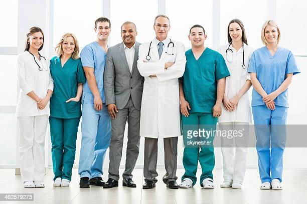 Doctors and a businessman.