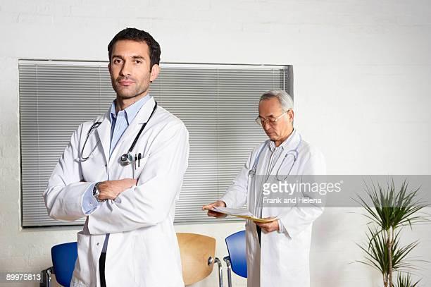 Doctors in waiting room