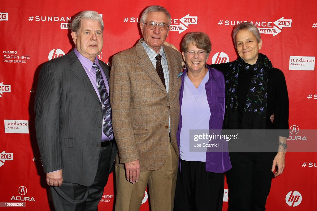 Doctors LeRoy Carhart, Warren Hern, Susan Robinson and Shelley Sella attend the 'After Tiller' premiere at Temple Theater during the 2013 Sundance Film Festival on January 18, 2013 in Park City, Utah.