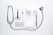 Medical equipment. Healthcare concept