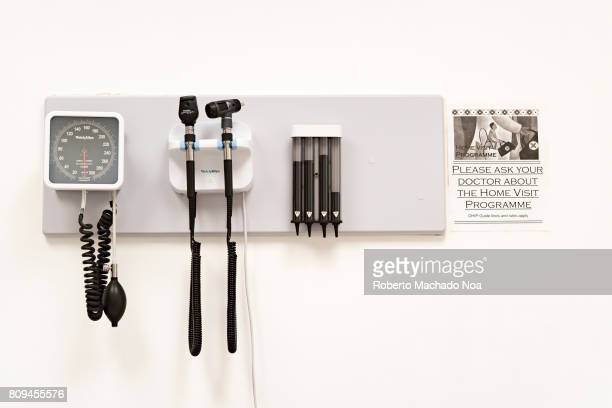 Doctor's office basic instruments on wall Advice to ask your doctor about the Home Visiting Program