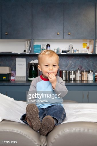 Doctor's office check up. : Stock Photo