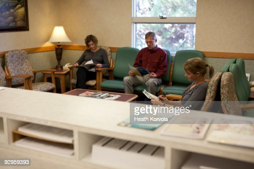 doctors office waiting room stock photo getty images