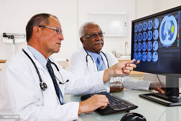 Doctors Reviewing Test Results