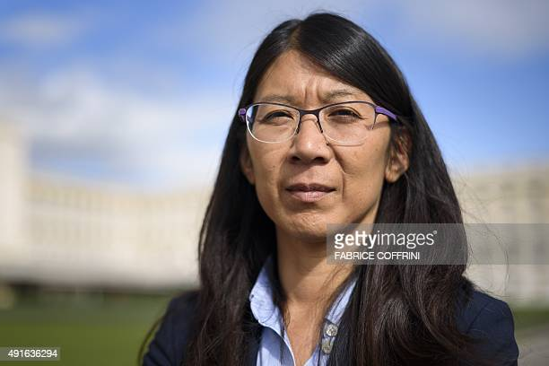 Doctors Without Borders also known by its French name Medecins Sans Frontieres International President Joanne Liu poses after a press conference in...