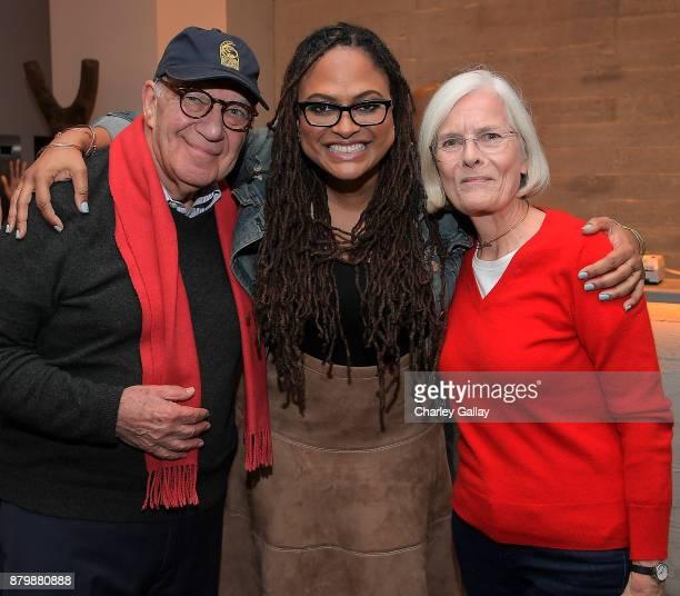 Documentarian Arnold Schwartzmandirector Ava DuVernay and Isolde Schwartzman attend 'Alone' Screening with Ava DuVernay and Director Garrett Bradley...