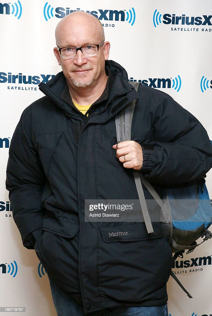 Documentary filmmaker <a gi-track='captionPersonalityLinkClicked' href=/galleries/search?phrase=Alex+Gibney&family=editorial&specificpeople=844225 ng-click='$event.stopPropagation()'>Alex Gibney</a> visits the SiriusXM Studios on February 4, 2013 in New York City.