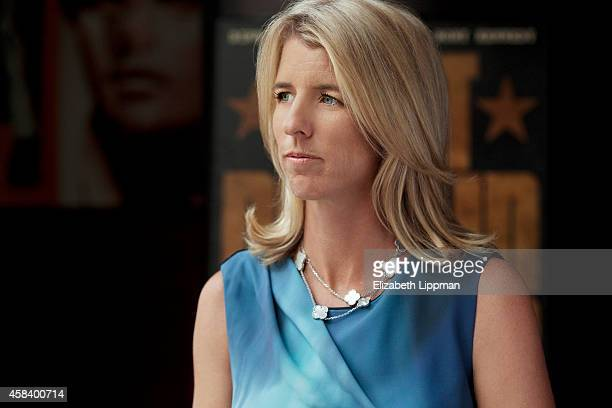 Documentary filmmaker Rory Kennedy is photographed for Boston Globe on October 5 2014 in New York City