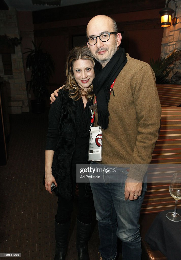 VP Documentary Films Sara Bernstein and producer Julian Cautherly attends the HBO Documentary Films Sundance Party on January 20, 2013 in Park City, Utah.