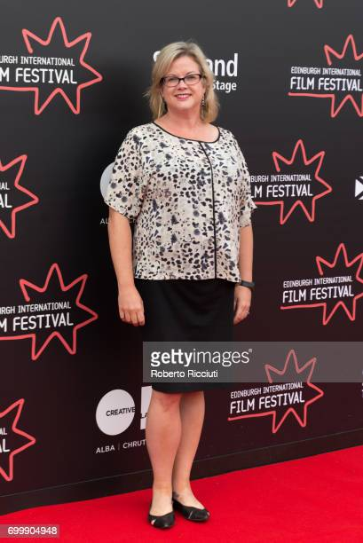Documentary Juror Wendy Mitchell attends a photocall during the 71st Edinburgh International Film Festival at Cineworld on June 22 2017 in Edinburgh...