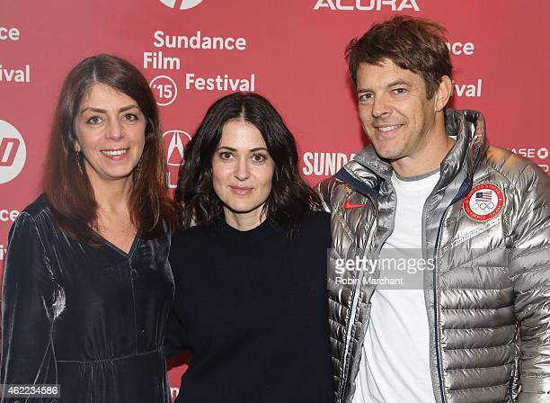 SVP Documentary Progamming at Home Box Office Nancy Abraham director Alexandra Shiva and executive producer Jason Blum attend the 'How To Dance In...