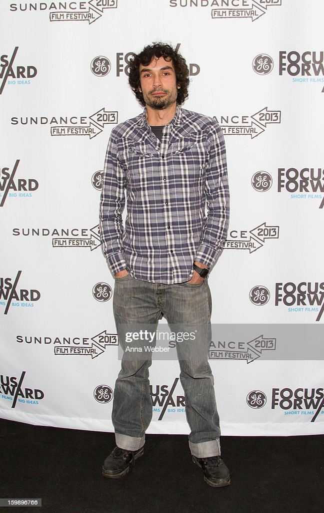 Documentary Short Films Finalist Rafael Duran Torrent arrives to GE / Focus Forward - Short Films Big Ideas Filmmaker Competition Awards Ceremony - 2013 Park City on January 22, 2013 in Park City, Utah.
