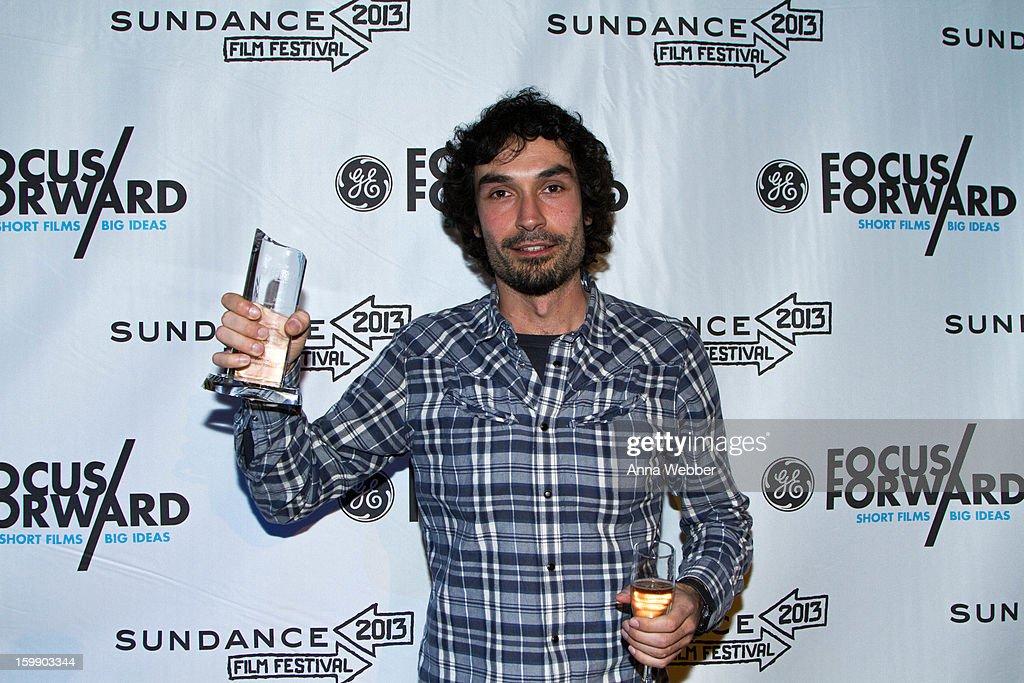 Documentary Short Films Finalist Rafael Duran Torrent at the GE / Focus Forward - Short Films Big Ideas Filmmaker Competition Awards Ceremony - 2013 Park City on January 22, 2013 in Park City, Utah.
