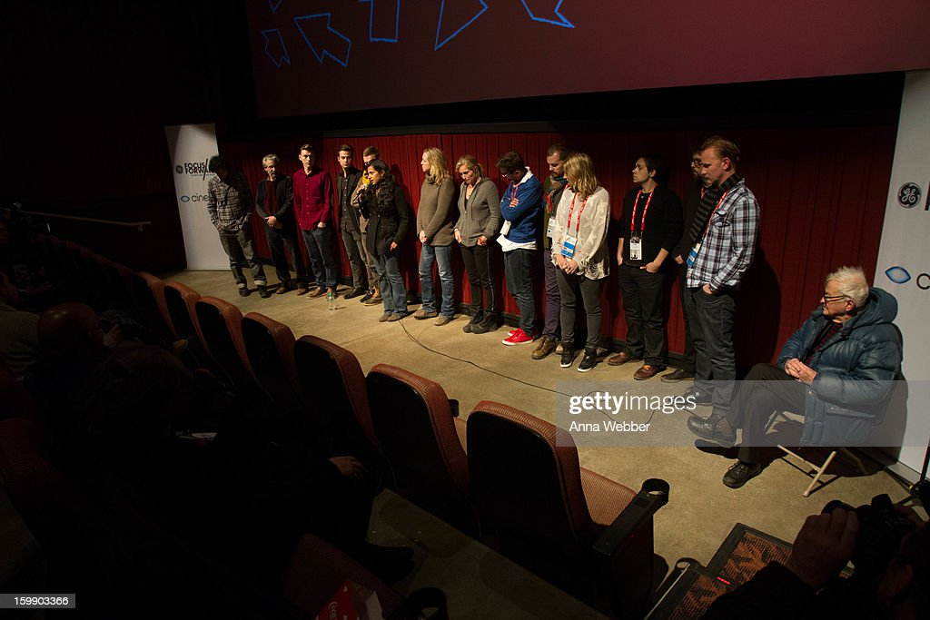 Documentary Short Films Finalists attend GE/Focus Forward Special Screening - 2013 Park City on January 22, 2013 in Park City, Utah.
