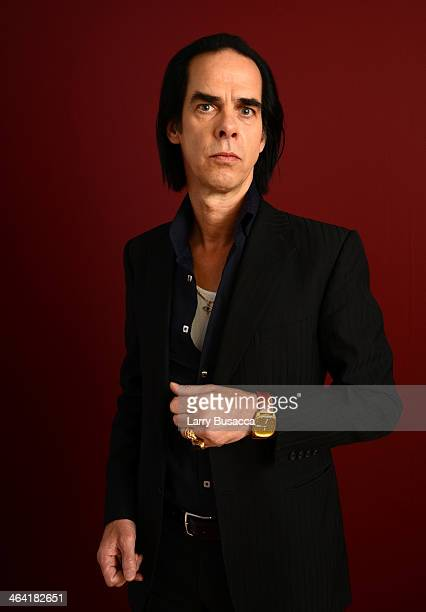 Documentary subject Nick Cave poses for a portrait during the 2014 Sundance Film Festival at the Getty Images Portrait Studio at the Village At The...