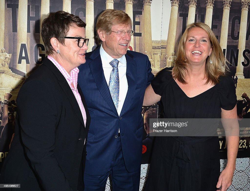 Documentary subjects <a gi-track='captionPersonalityLinkClicked' href=/galleries/search?phrase=Sandy+Stier&family=editorial&specificpeople=7128704 ng-click='$event.stopPropagation()'>Sandy Stier</a>, lawyer Ted Olson and <a gi-track='captionPersonalityLinkClicked' href=/galleries/search?phrase=Kris+Perry&family=editorial&specificpeople=2489335 ng-click='$event.stopPropagation()'>Kris Perry</a> arrive at the Los Angeles Premiere Of HBO Documentary 'The Case Against 8' at Directors Guild Of America on June 3, 2014 in Los Angeles, California.