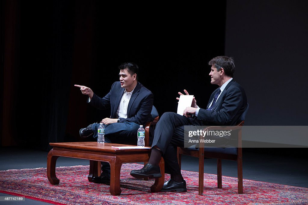 'Documented' Writer and Director Jose Antonio Vargas and the Executive Vice President of the Asian Society Tom Nagorski during a Special Screening Of 'Documented' Co-Hosted By Asia Society And MTV at Asia Society on May 1, 2014 in New York City.