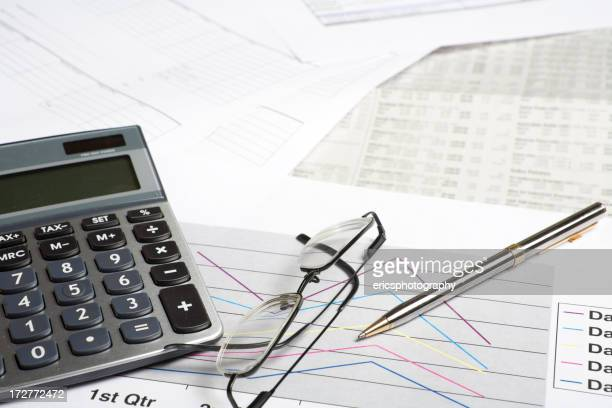Documents calculator and graphs