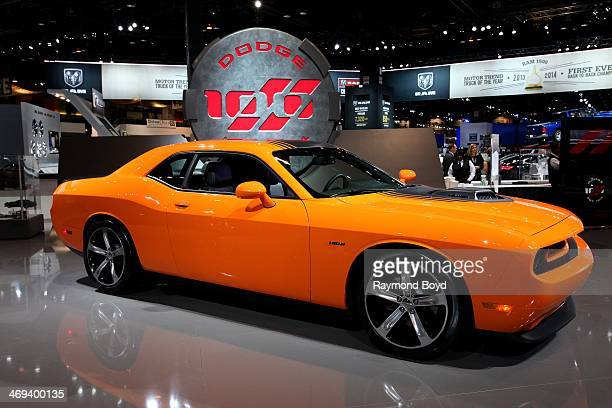 Dodge Challenger at the 106th Annual Chicago Auto Show at McCormick Place in Chicago Illinois on FEBRUARY 06 2014