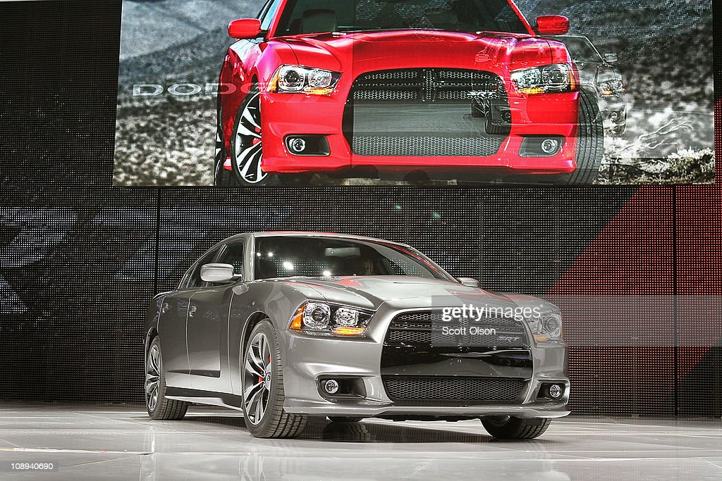 Dodge introduces the 2012 Charger SRT8 at the Chicago Auto Show on February 9, 2011 in Chicago, Illinois. The show opened for media previews today. It is open to the general public February 11.