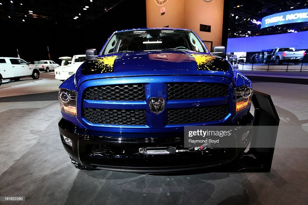 Dodge Mopar Customized Power RAM, at the 105th Annual Chicago Auto Show at McCormick Place in Chicago, Illinois on FEBRUARY