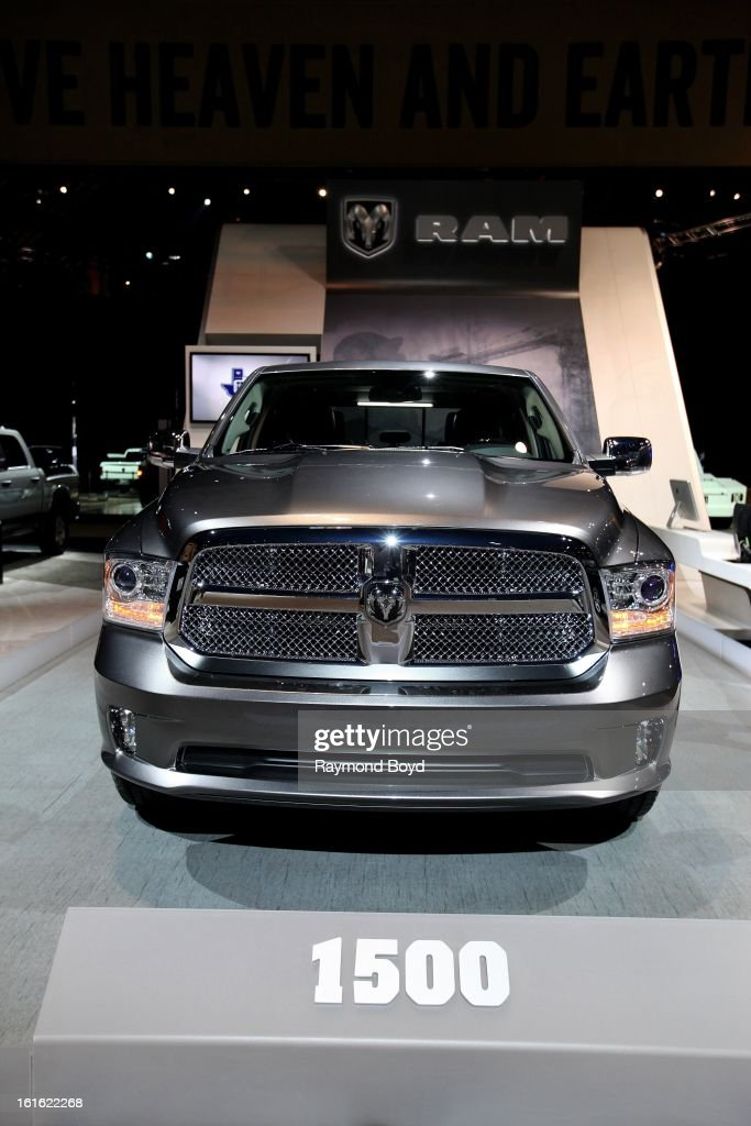Dodge RAM 1500, at the 105th Annual Chicago Auto Show at McCormick Place in Chicago, Illinois on FEBRUARY