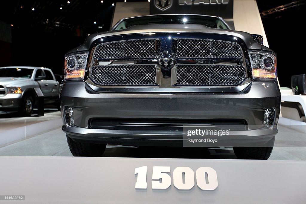 Dodge RAM 1500, at the 105th Annual Chicago Auto Show at McCormick Place in Chicago, Illinois on FEBRUARY 07, 2012.