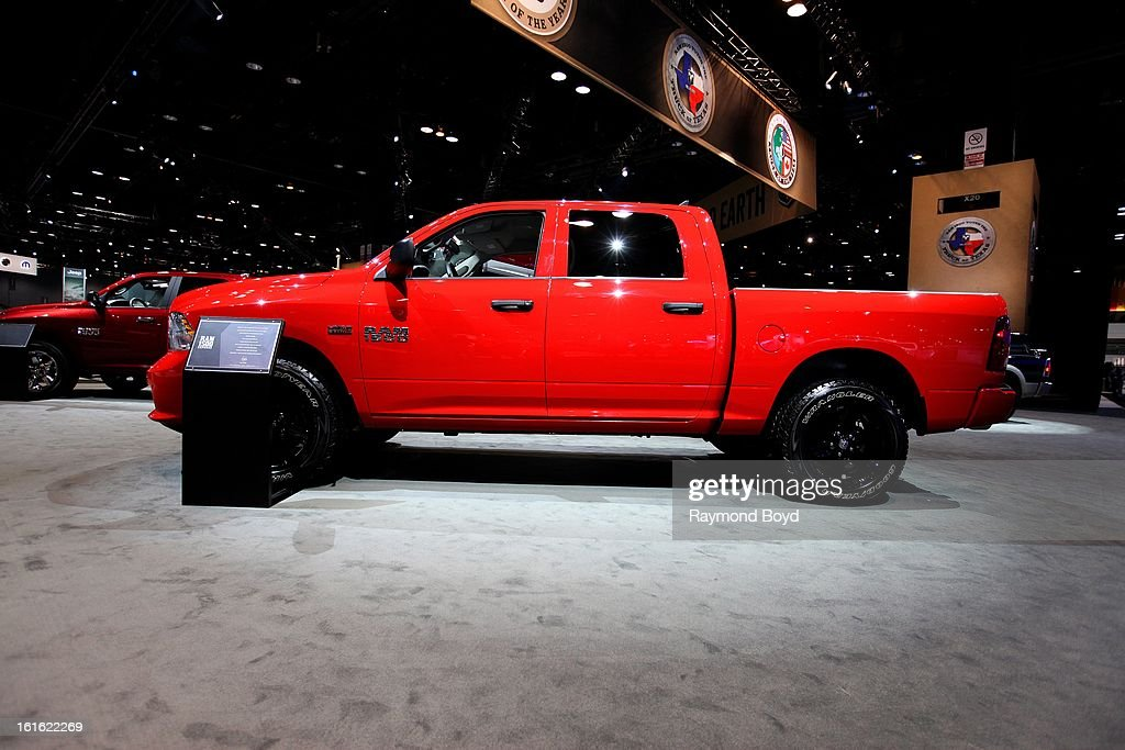 Dodge RAM 1500 Express, at the 105th Annual Chicago Auto Show at McCormick Place in Chicago, Illinois on FEBRUARY