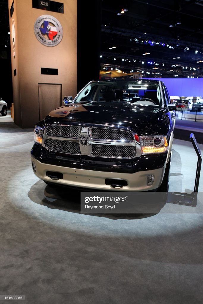 Dodge RAM 1500 Longhorn, at the 105th Annual Chicago Auto Show at McCormick Place in Chicago, Illinois on FEBRUARY