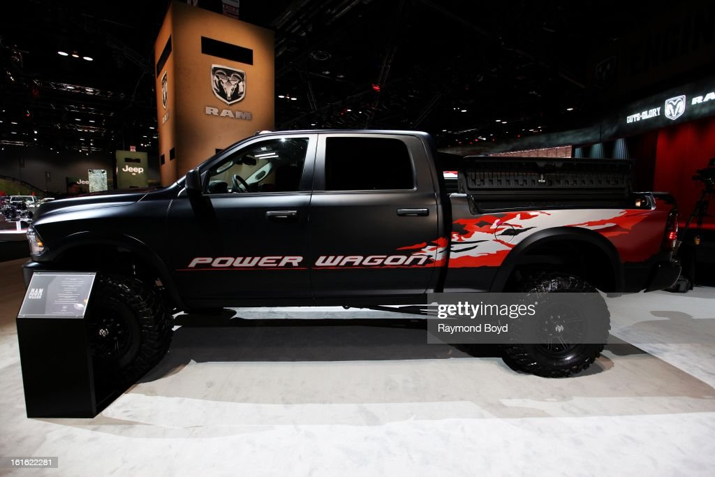 Dodge RAM Power Wagon, at the 105th Annual Chicago Auto Show at McCormick Place in Chicago, Illinois on FEBRUARY