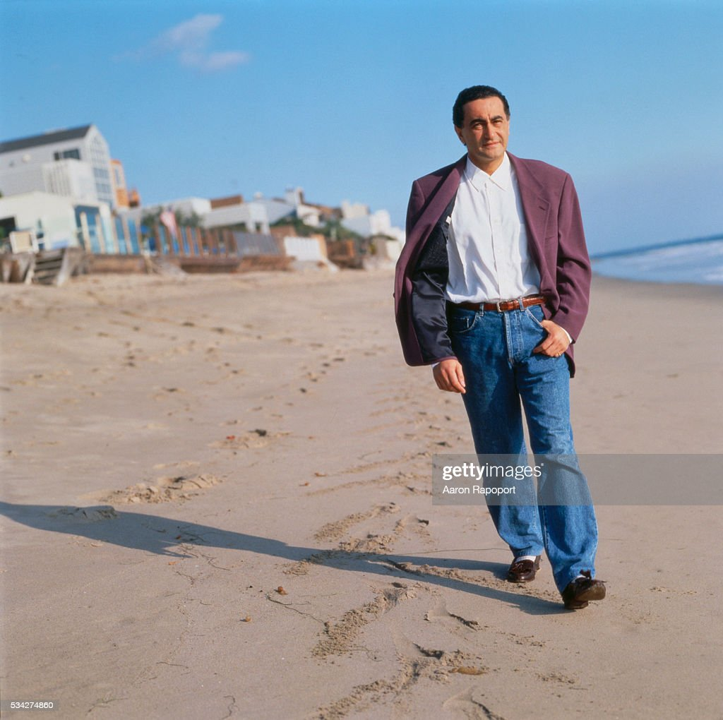 Dodi al Fayed on Beach