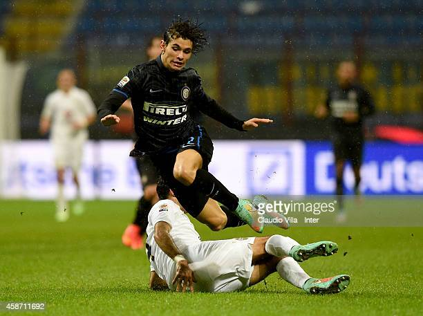 Dodo of FC Internazionale Milano Walter in action during the Serie A match between FC Internazionale Milano and Hellas Verona FC at Stadio Giuseppe...