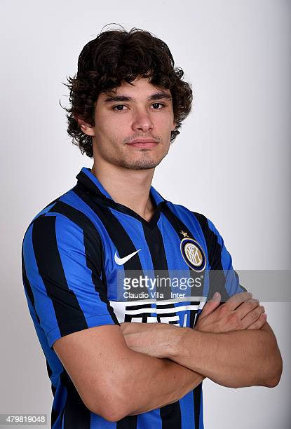 Dodo of FC Internazionale poses for his Serie A 20152016 season official headshot at Riscone di Brunico on July 7 2015 in Bruneck Italy