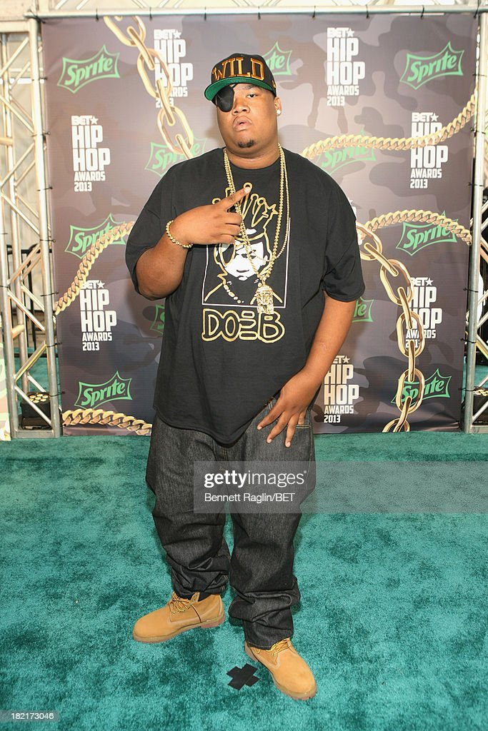 Doe B attends the BET Hip Hop Awards 2013 at Boisfeuillet Jones Atlanta Civic Center on September 28, 2013 in Atlanta, Georgia.