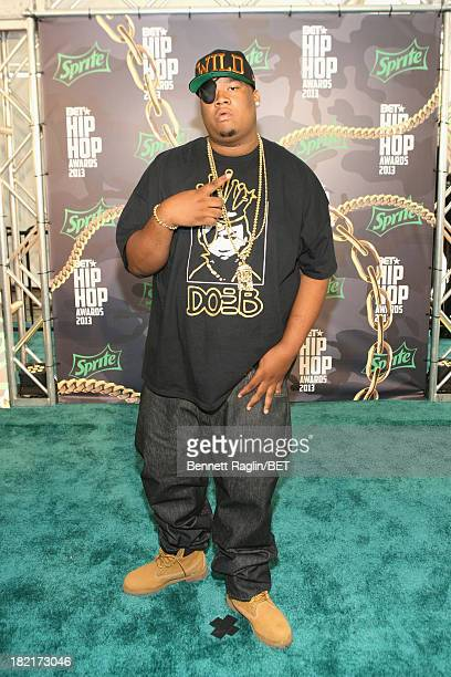 Doe B attends the BET Hip Hop Awards 2013 at Boisfeuillet Jones Atlanta Civic Center on September 28 2013 in Atlanta Georgia