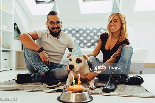 Dog Birthday Party.