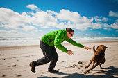 Dog evades owner