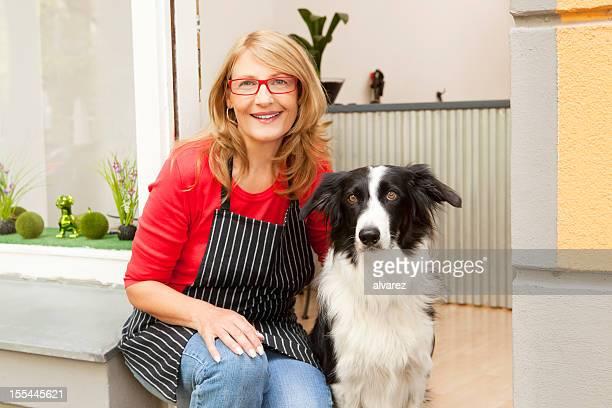 Hund Salon-Besitzer