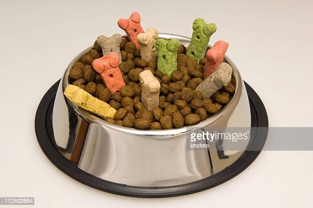 犬用夕食をお楽しみください。